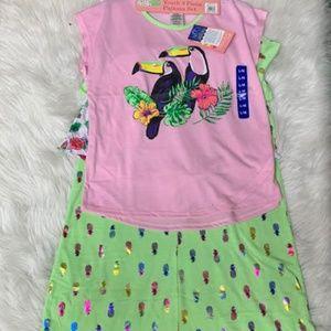 NWT Saint Eve Kids Youth 3 Piece Pajama Set